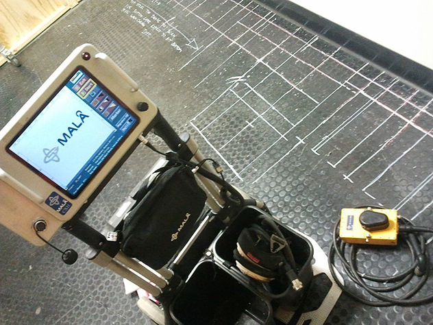 GPR for concrete scanning