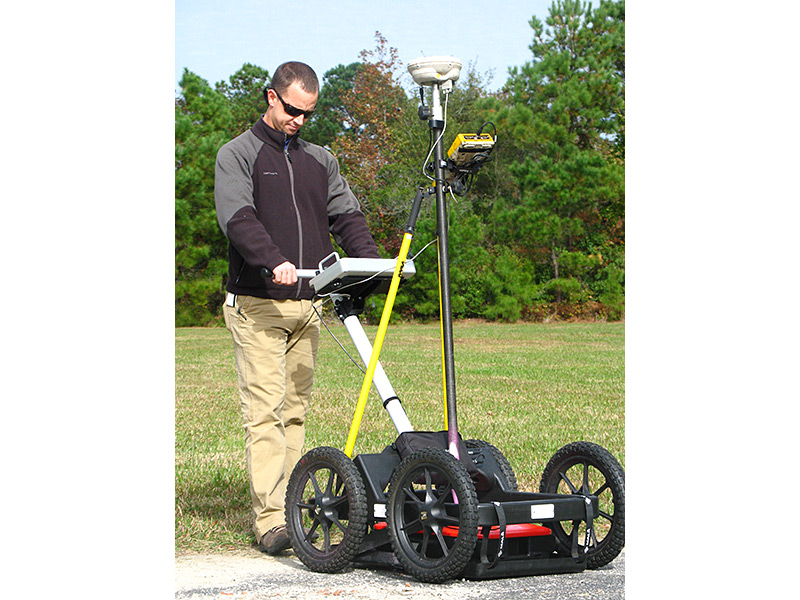 GPR for utility detection