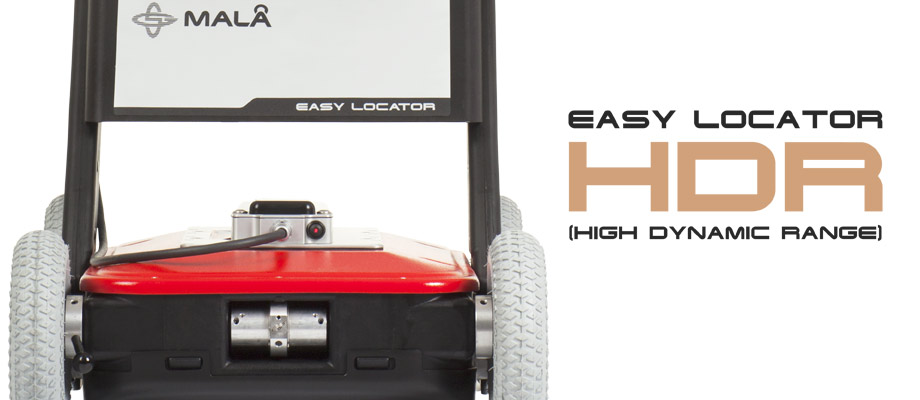 Easylocator HDR - GPR cable utility locator